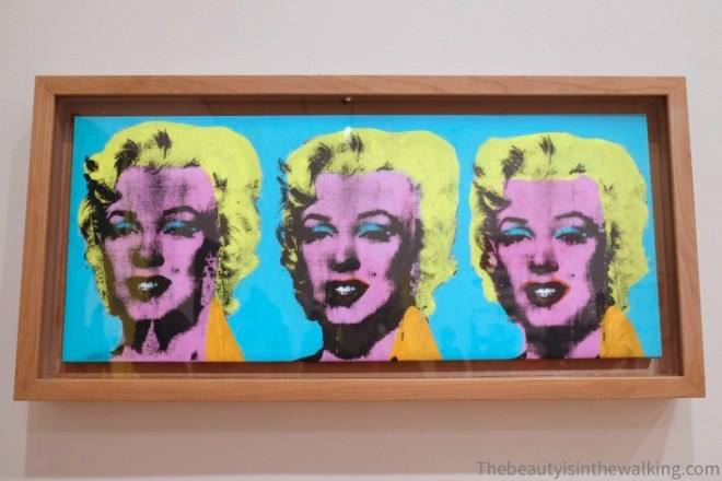 Three Marylins, Andy Warhol - NGV, Melbourne