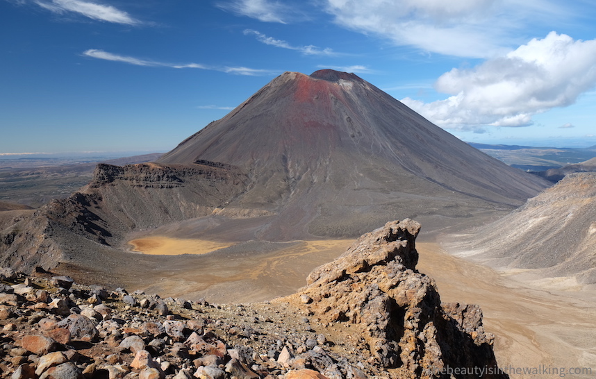 The Tongariro volcano has not erupted for over a 100 years