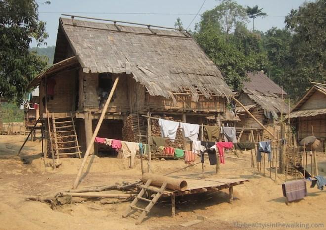 Village de Bana, Laos