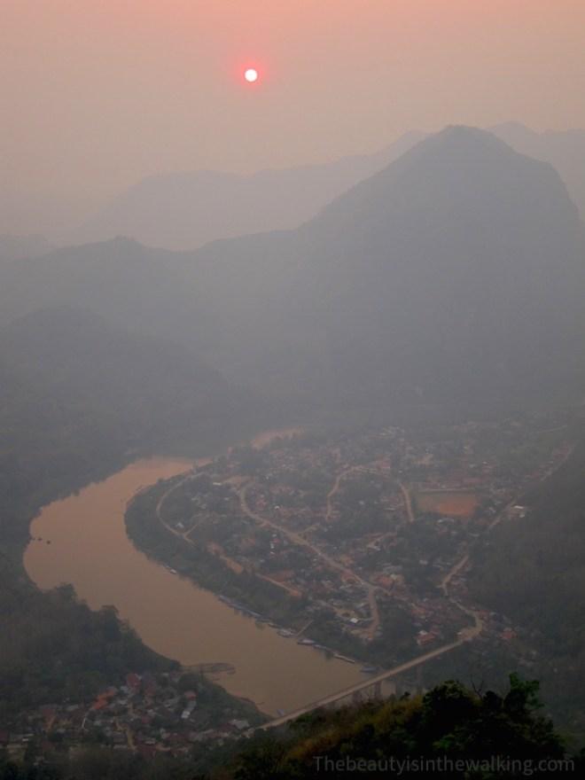 Vue sur Nong Kiaew, Laos