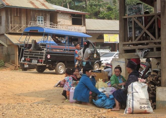 Villageois - Nong Kiaew, Laos