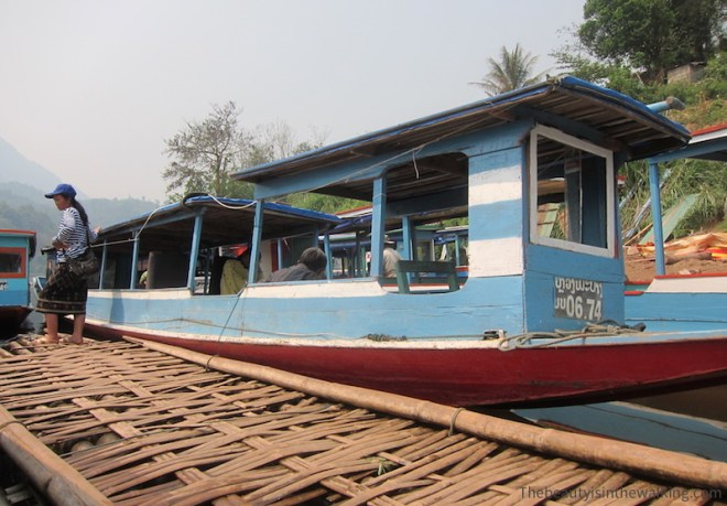 Long boat - Nong Kiaew, Laos