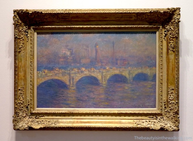 Pont de Waterloo, env. 1903, Carnegie Museum of Art, Pittsburg.