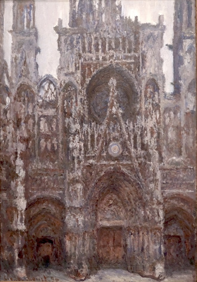 Rouen Cathedral. The Portal, Harmony in brown, 1892-94, Musée d'Orsay.