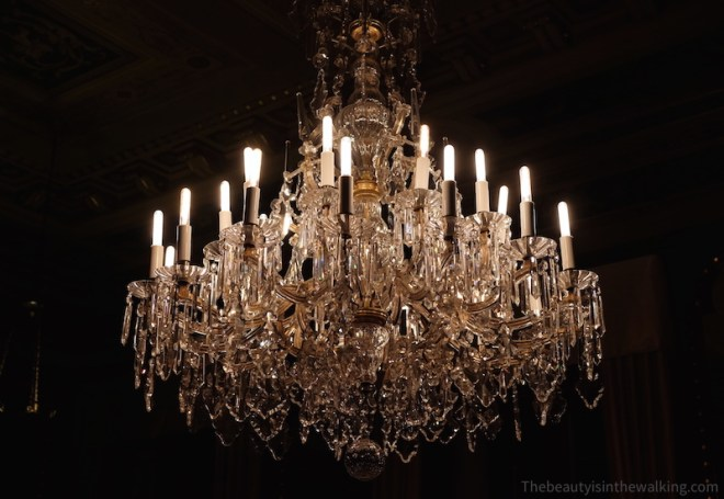 Crystal chandelier, Erichsen's Mansion, Copenhagen