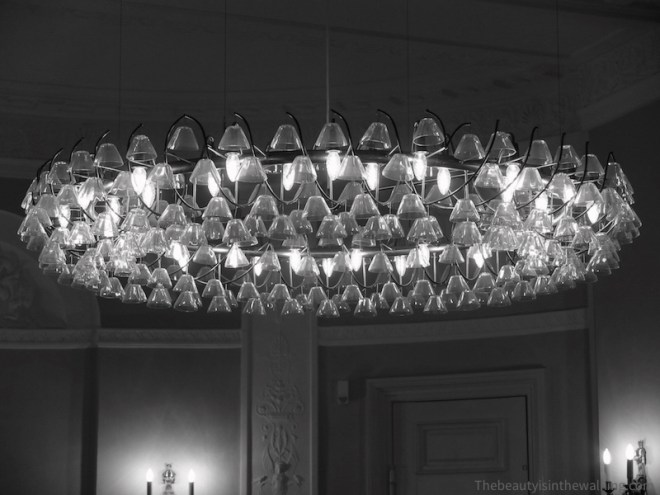 Chandelier, Erichsen's Mansion, Copenhagen