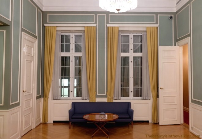 Reception room, Erichsen's Mansion, Copenhagen