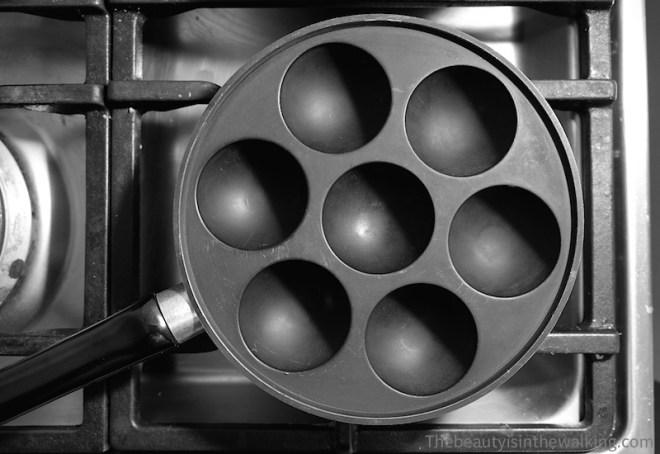 Poêle à æbleskiver | cuisine danoise