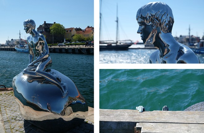 Han, sculpture on Helsingør Harbour