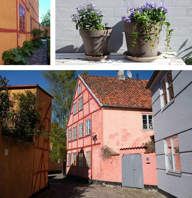 Houses in Helsingør, Danemark