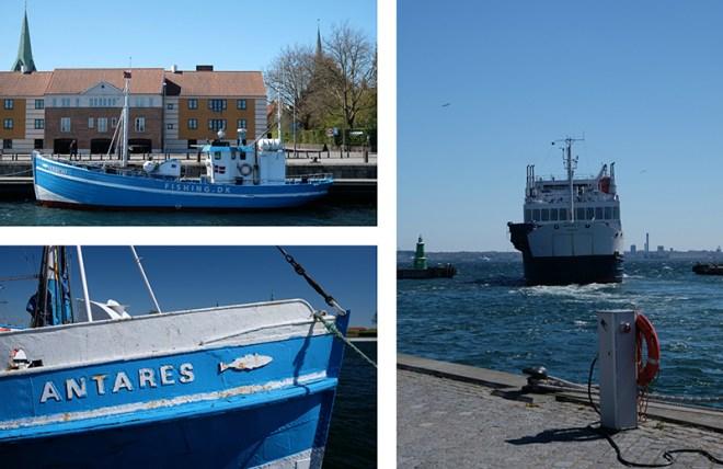 Helsingør Harbour, Danemark
