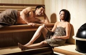 sauna couple - sauna couple