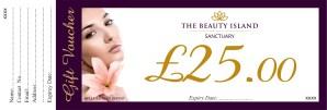GIFT VOUCHER 2 1 - Beauty Treatment Gift Voucher