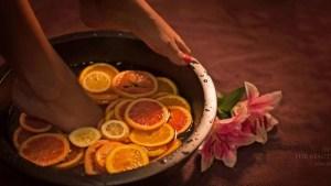 Mini  The Beauty Island spa treatments 22 Copy - Pedicure & Fruit foot bath