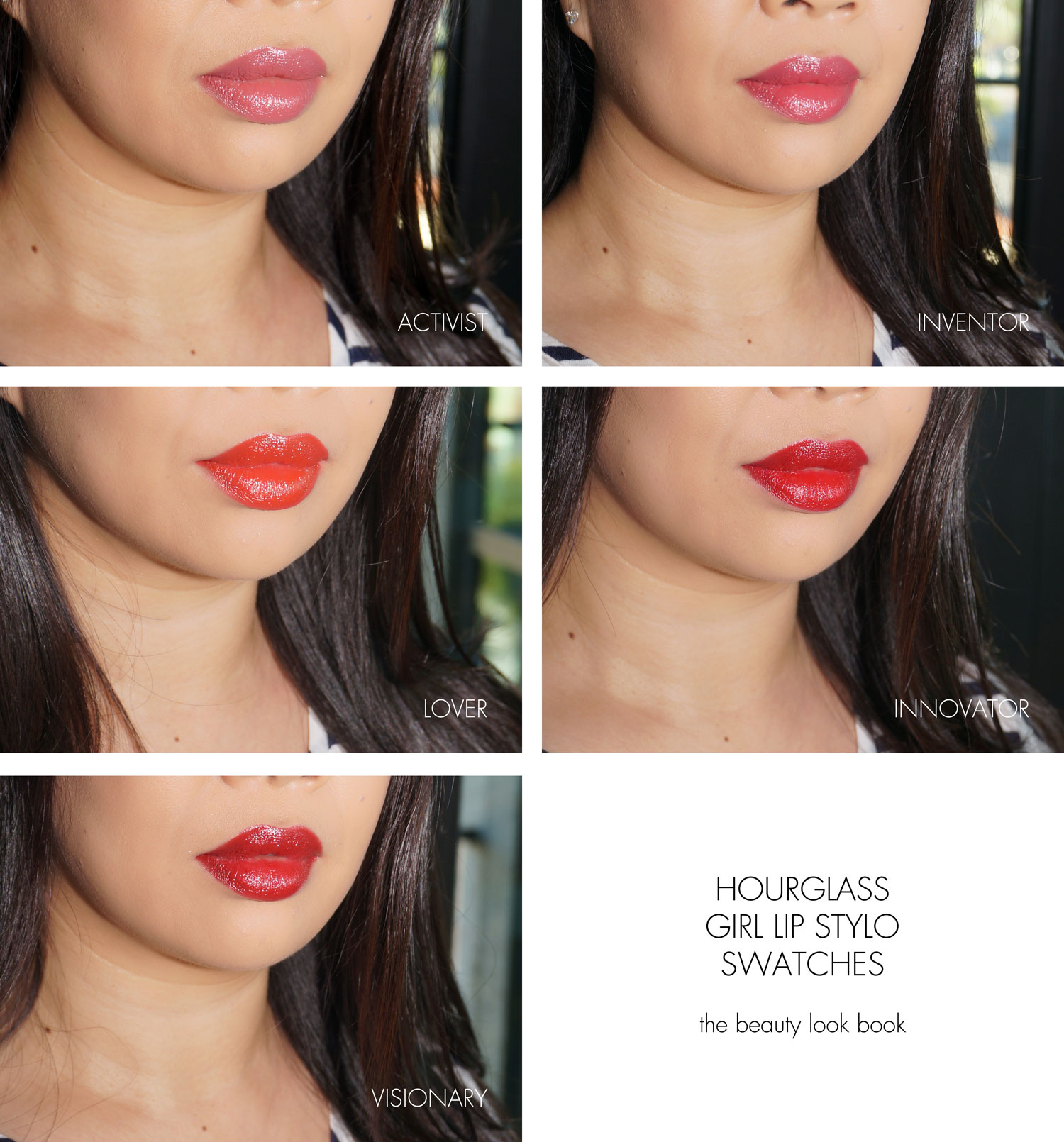 Hourglass Cosmetics GIRL Lip Stylo The Beauty Look Book
