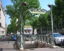 Iron Flowers Guimard Tro Entrances Paris France