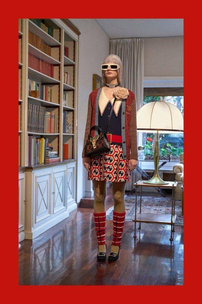 Oslo Grace  Unia Pakhomova for Gucci PreFall 2018