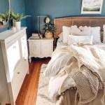 Boho Bedroom Makeover On A Budget Cane Headboard