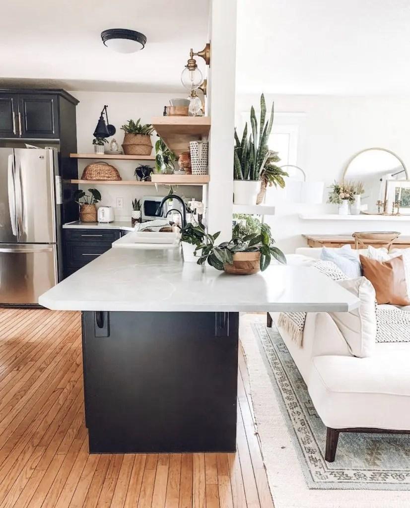 Boho Modern Farmhouse Decor Home Tour 2021 - The Beauty ...