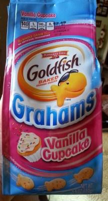 Goldfish Vanilla Cupcake