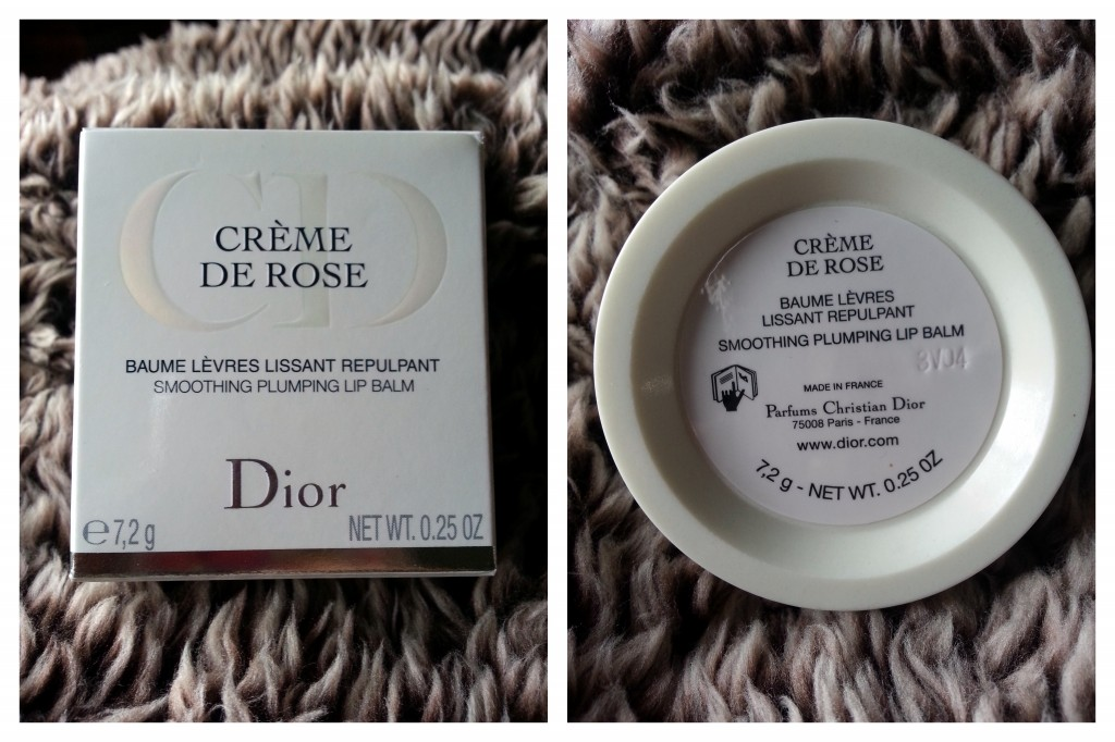 Review: Christian Dior Creme De Rose Smoothing Plumping Lip Balm