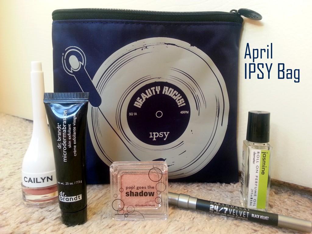 April Ipsy Bag