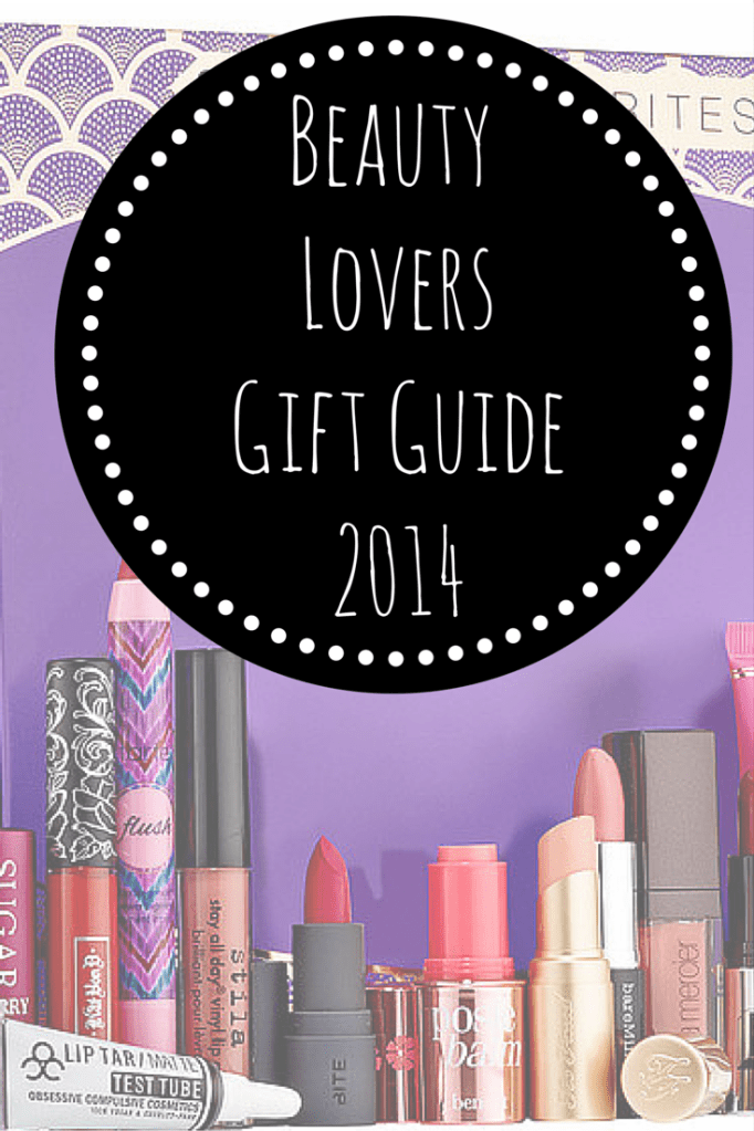 Beauty Lovers Gift Guide 2014