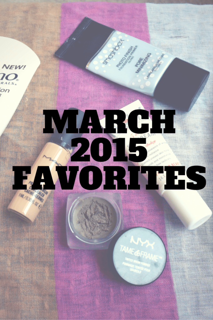March Beauty Favorites 2015 | Makeup and Skincare