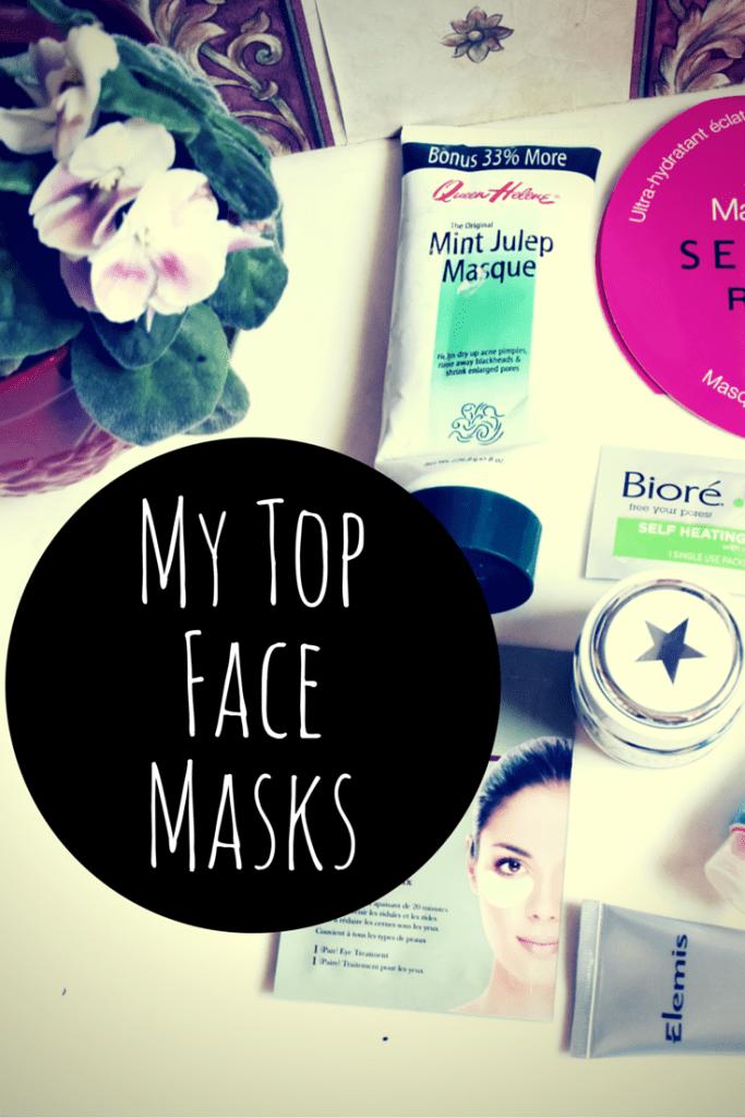 My Top Face Masks