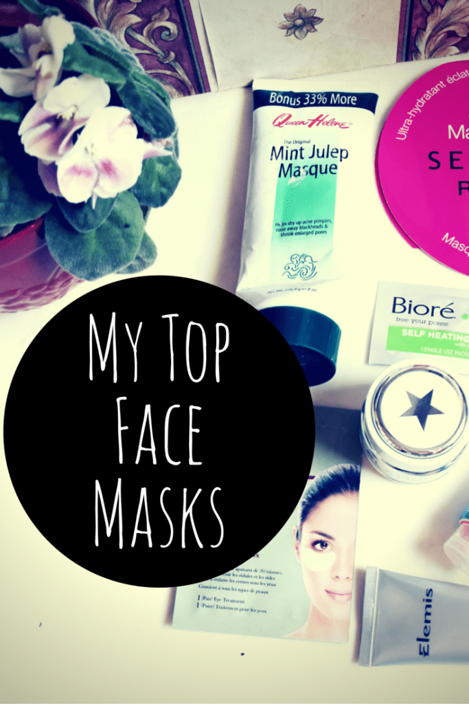 My Top Face Masks for oil control, acne prone skin, hydrating and moisturizing, brightening, and anti-aging.