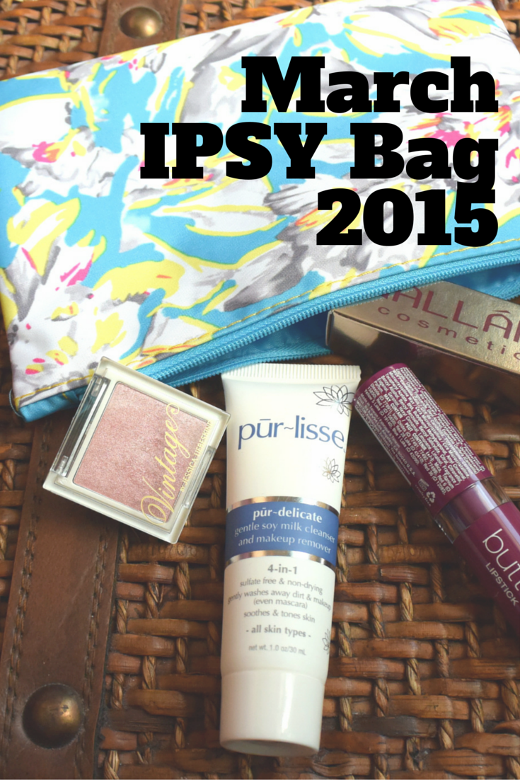 March IPSY Bag 2015 | Makeup | Skincare | Beauty