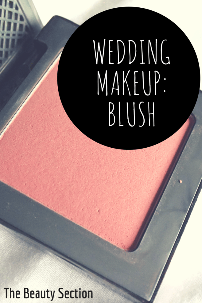 Wedding Makeup: Urban Decay Afterglow Longwear Blush