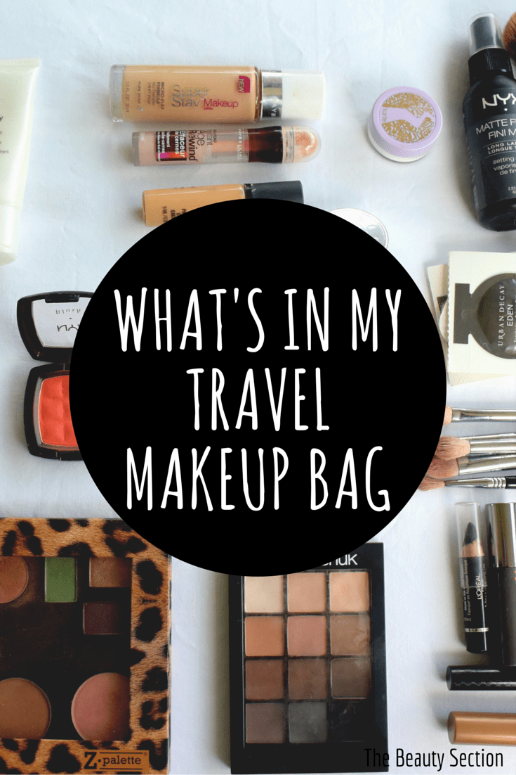 travel makeup bag