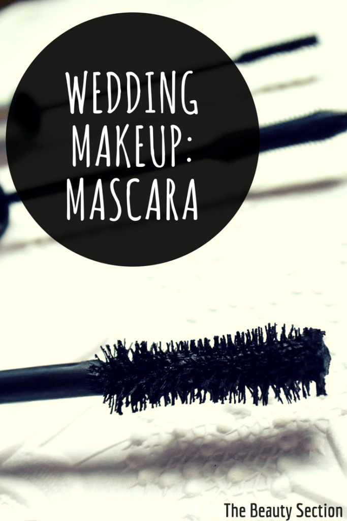 Wedding Makeup // Mascara