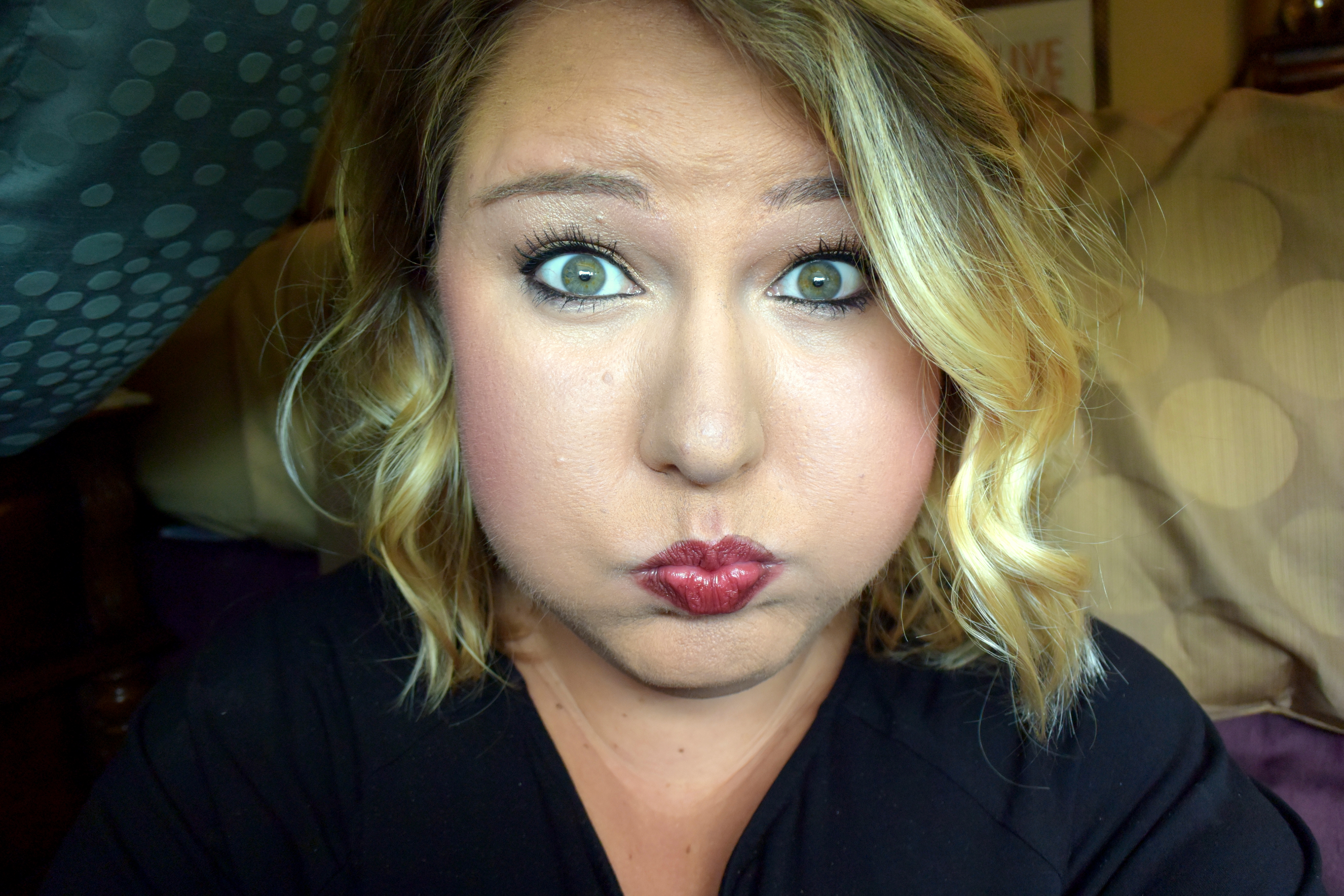 Mary Kay Project Runway Sculpted Makeup Look, perfect for Fall.