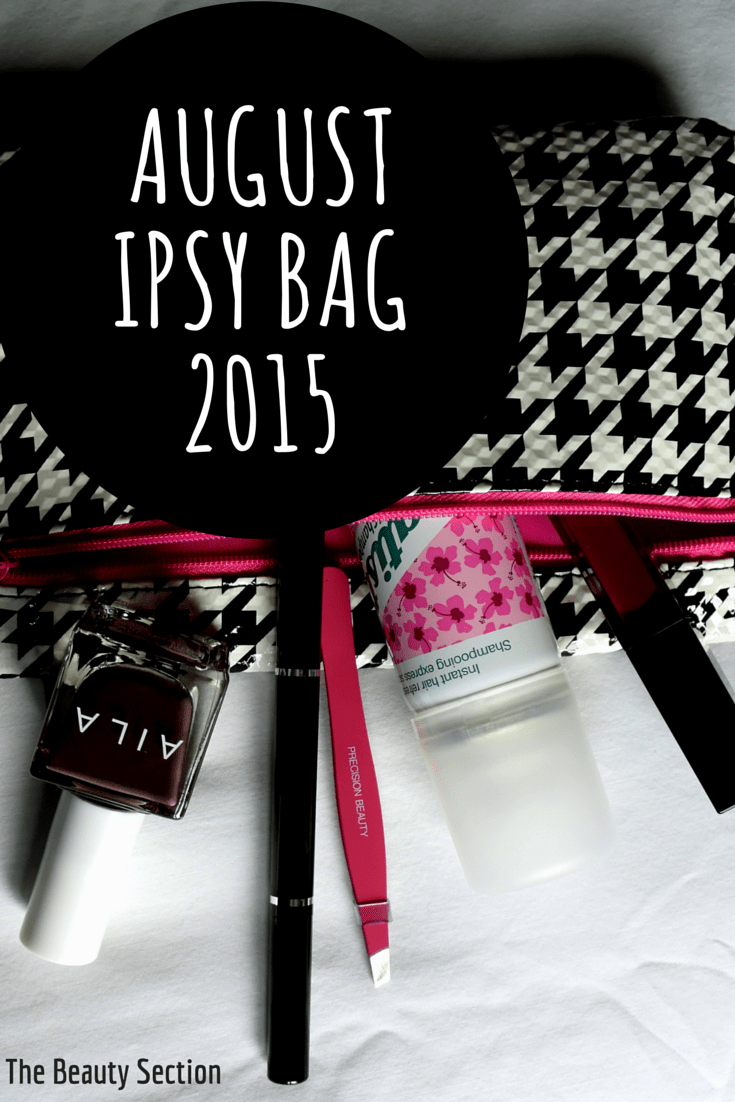 August Ipsy Bag // 2015. Makeup | Skincare | Hair