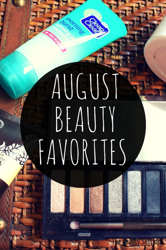 August Beauty Favorites 2015 | Makeup | Skincare | Body