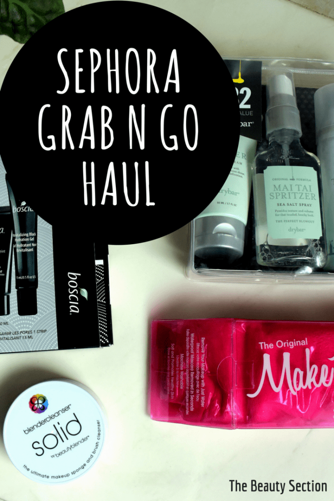 Sephora Grab N Go Haul, goodies you can find at the checkout line.