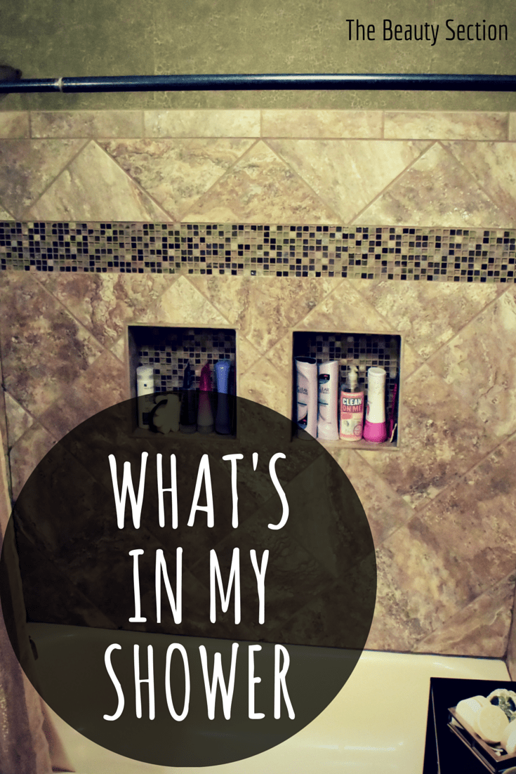What's In My Shower | Shampoo, Body Wash, Face Wash, Miscellaneous