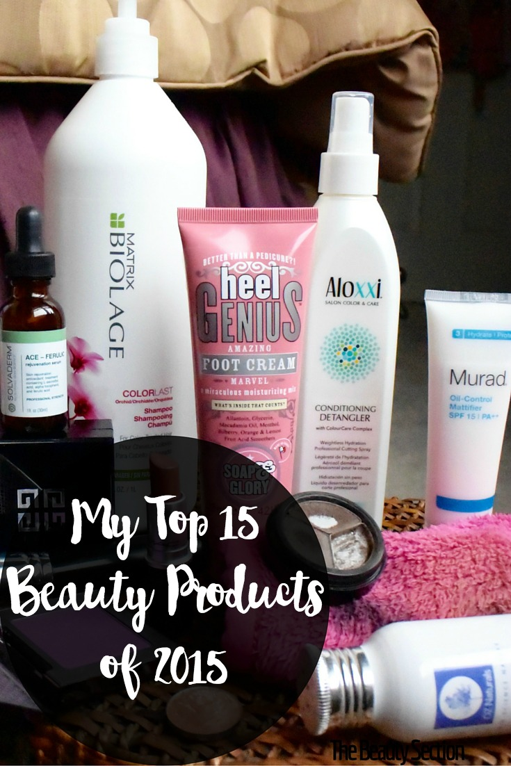 My Top 15 Beauty Products of 2015. Makeup | Hair | Body | Skincare