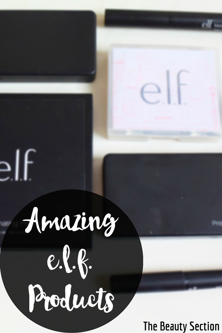 Amazing e.l.f. Products