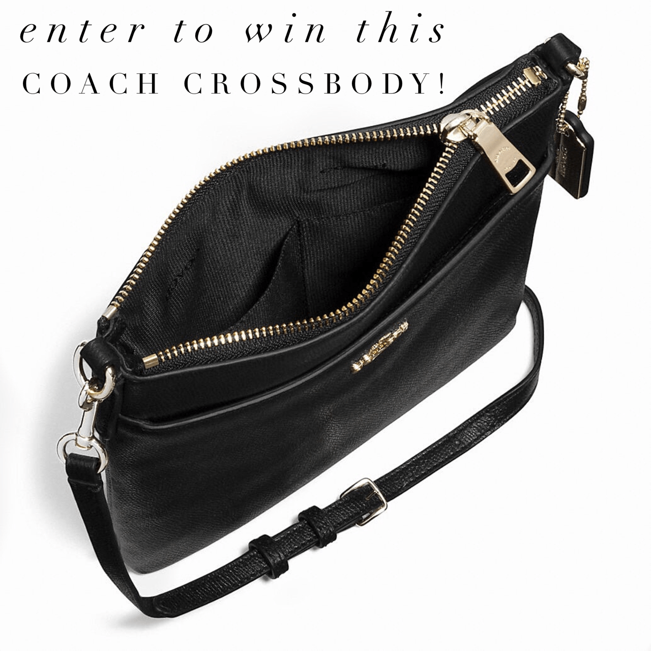 Coach Crossbody Giveaway