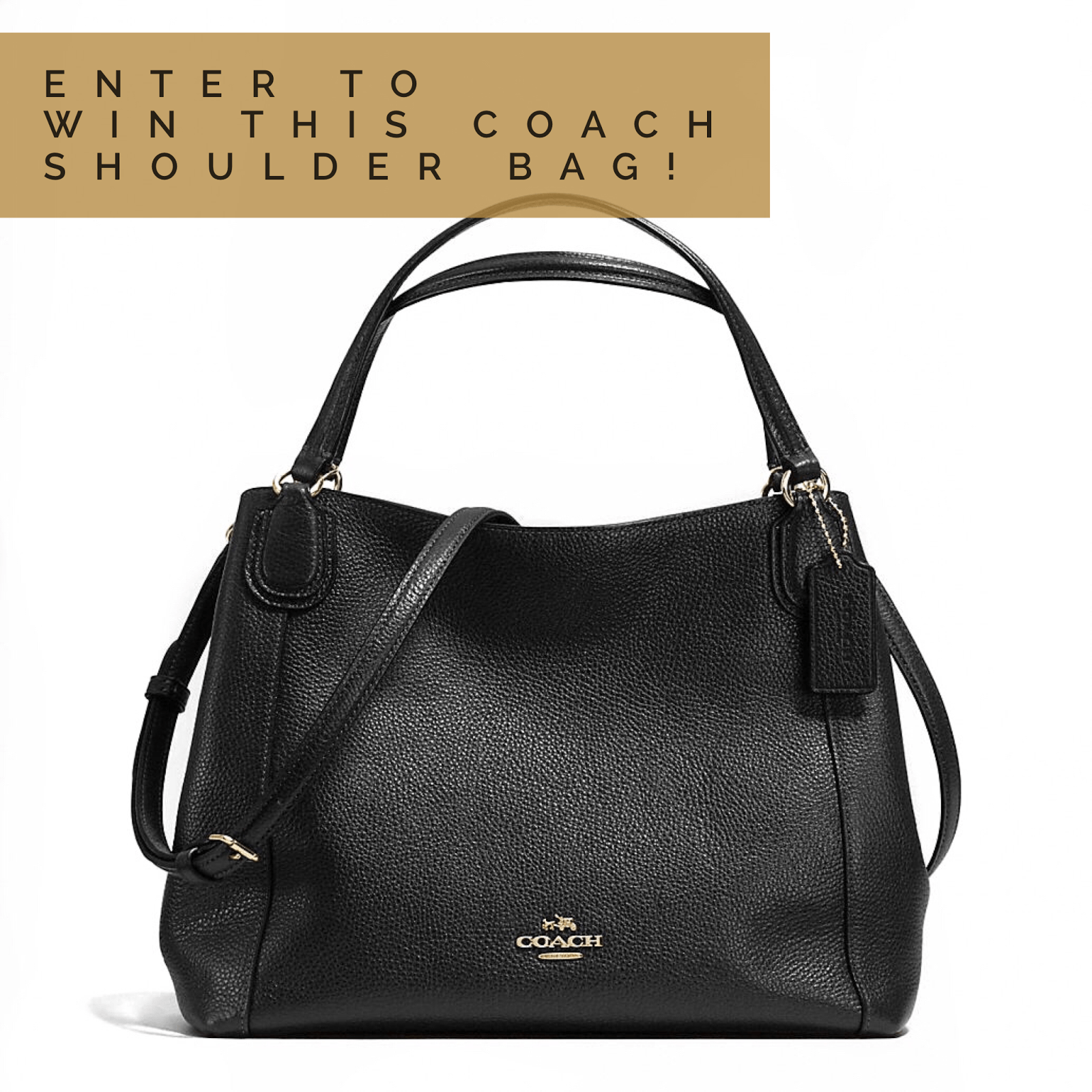 Coach Shoulder Bag Giveaway