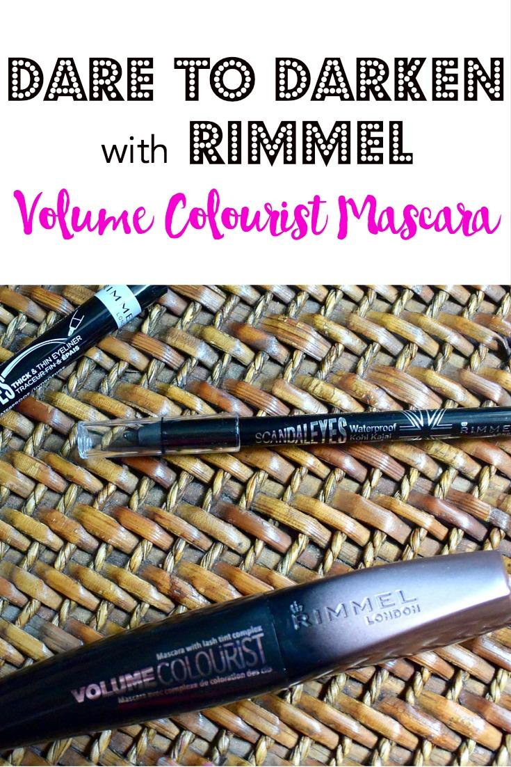Dare to Darken with Rimmel Volume Colourist Mascara
