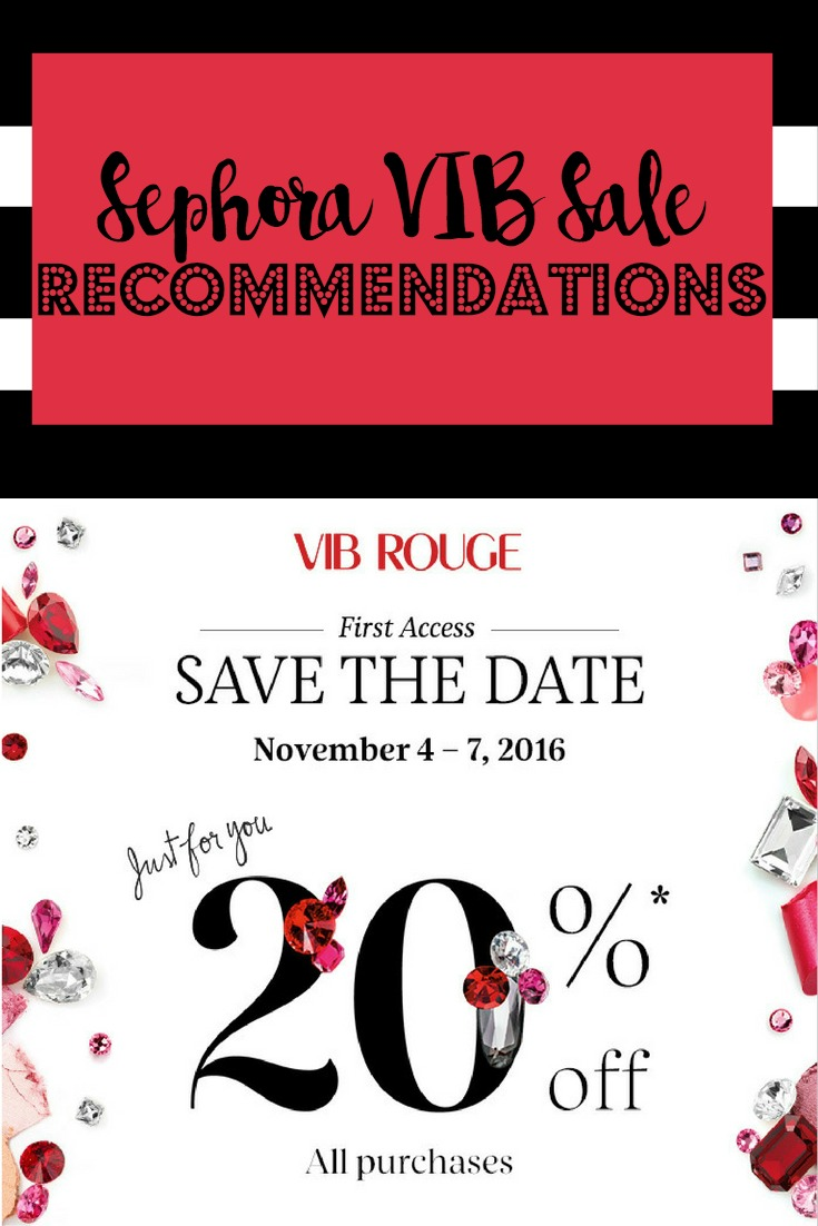 Sephora VIB Sale Recommendations | Makeup | Hair | Beauty