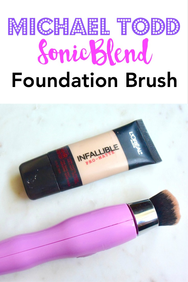 Michael Todd Beauty SonicBlend Foundation Brush