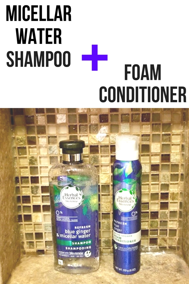 Micellar Water + Foam Conditioner Review