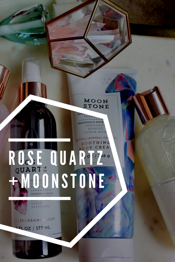 Rose Quartz + Moonstone | Bath & Body Works Haul