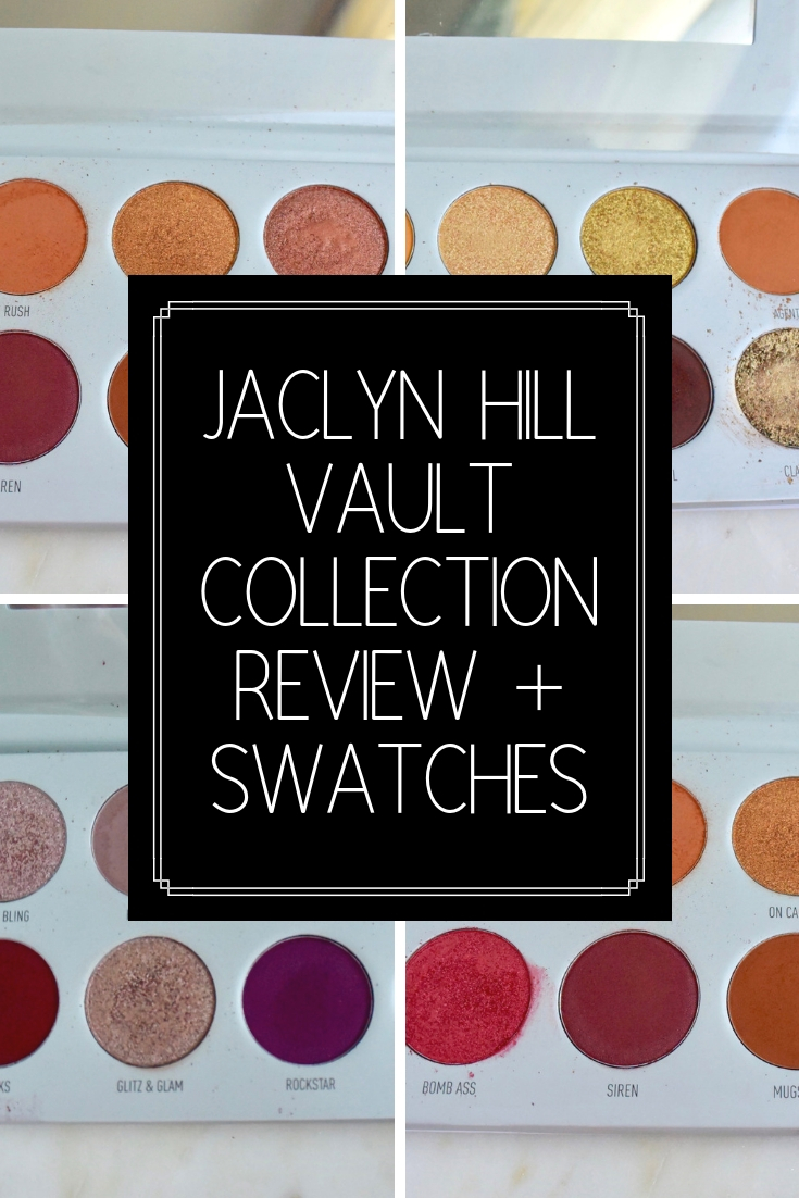Jaclyn Hill Vault Collection Review + Swatches   Is it worth it?