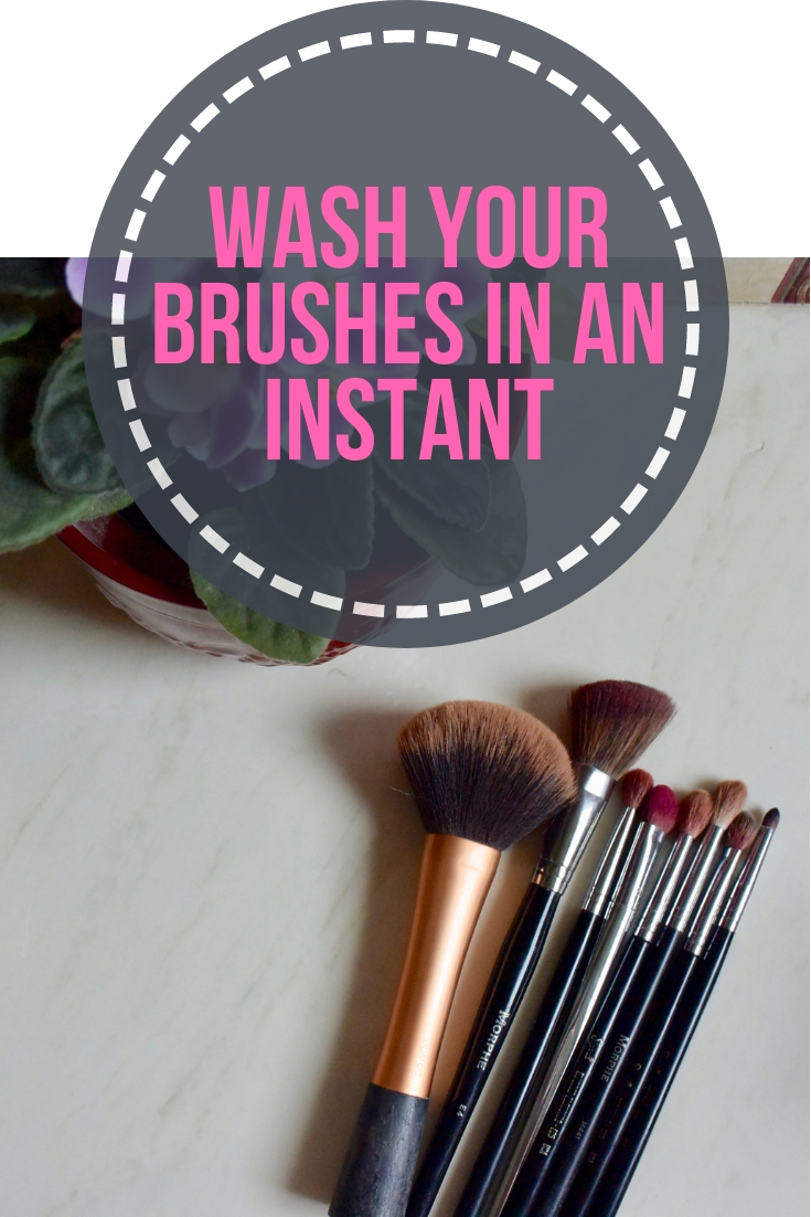 Wash Your Brushes in an Instant